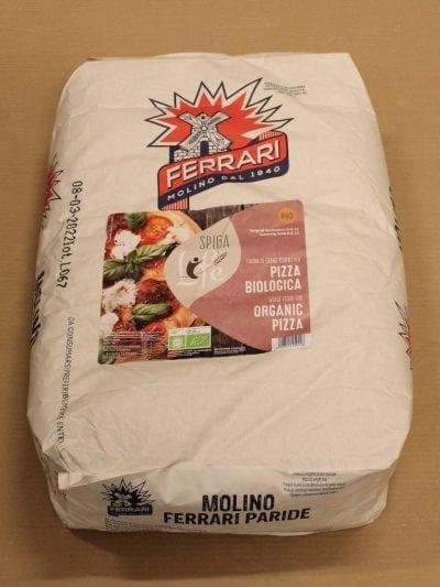 Økologisk Pizzamel Tipo 00 25 kg - Molino Ferrari