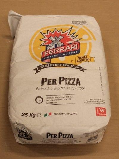 Pizzamel Tipo 00 25 kg - Molino Ferrari